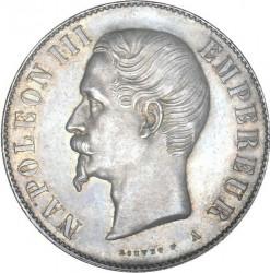 Moneta > 5franchi, 1854-1859 - Francia  - obverse