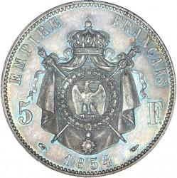 Moneta > 5franchi, 1854-1859 - Francia  - reverse