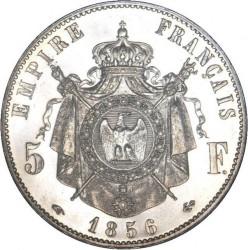 Монета > 5франков, 1854-1859 - Франция  - reverse