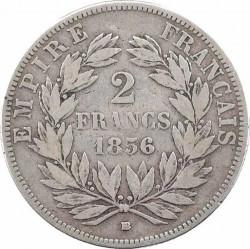 Moneta > 2franchi, 1853-1859 - Francia  - reverse