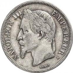 Moneta > 2franchi, 1866-1870 - Francia  - obverse