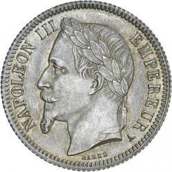 Moneta > 1franco, 1866-1870 - Francia  - obverse