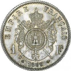 Moneta > 1franco, 1866-1870 - Francia  - reverse