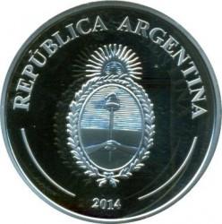 Moneda > 5pesos, 2014 - Argentina  (El Payador) - obverse