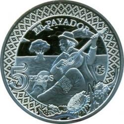 Moneda > 5pesos, 2014 - Argentina  (El Payador) - reverse