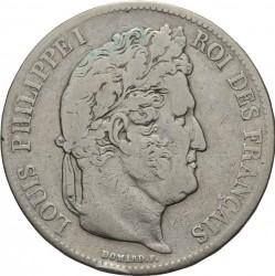 Moneta > 5franchi, 1832-1848 - Francia  - obverse