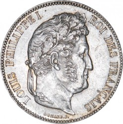 Moneta > 5franków, 1832-1848 - Francja  - obverse