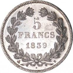 Moneta > 5franków, 1832-1848 - Francja  - reverse