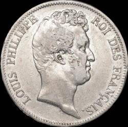 "العملة > ٥فرنك, 1830 - فرنسا  (Louis Philippe I (with ""I"")) - obverse"