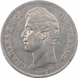 Moneta > 5franków, 1827-1830 - Francja  - obverse
