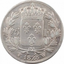 Moneta > 5franków, 1827-1830 - Francja  - reverse