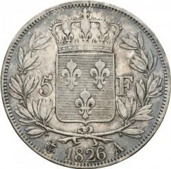 Moneta > 5franków, 1824-1826 - Francja  - reverse