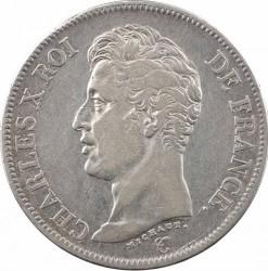 العملة > ٥فرنك, 1824-1826 - فرنسا  - obverse