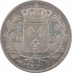 العملة > ٥فرنك, 1824-1826 - فرنسا  - reverse