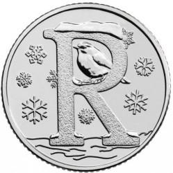 Minca > 10pence, 2018-2019 - Veľká Británia  (English alphabet - R) - reverse