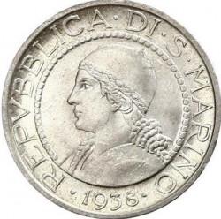 Moneda > 5lire, 1931-1938 - San Marino  - obverse