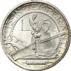 Moneda > 5lire, 1931-1938 - San Marino  - reverse
