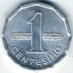 Monedă > 1centésimo, 1977 - Uruguay  - reverse
