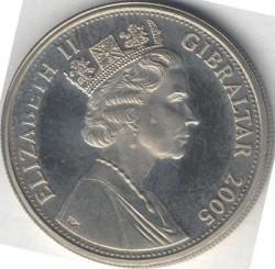Moneta > 1corona, 2005 - Gibilterra  (Un anno reale - Distribuzione delle monete Maundy nel Giovedì santo) - obverse