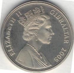 Moneta > 1corona, 2005 - Gibilterra  (Un anno reale - Corsa di cavalli) - reverse