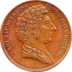 Монета > 1скіллінг, 1832 - Швеція  - obverse
