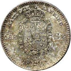 Монета > 1/16ригсдалерспесие, 1845-1855 - Швеция  - reverse