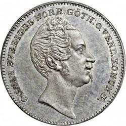 Mynt > ½riksdalerspecie, 1845-1852 - Sverige  - obverse