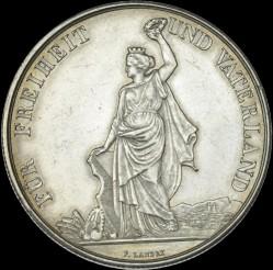 Moneta > 5franchi, 1872 - Svizzera  (Festival del Tiro di Zurigo) - obverse