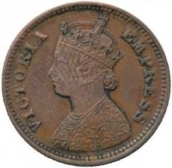 Monēta > ½pice, 1885-1901 - Britu Indija  - obverse