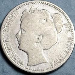 Monedă > 25cenți, 1898-1906 - Regatul Țărilor de Jos  - obverse