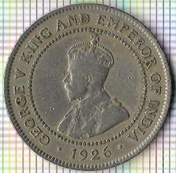Mynt > 1penny, 1914-1928 - Jamaika  - obverse