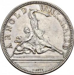 Moneta > 5franchi, 1861 - Svizzera  (Festival del Tiro di Nidvaldo) - reverse