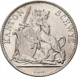 Moneta > 5franchi, 1867 - Svizzera  (Festival del Tiro di Svitto) - obverse