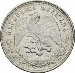 Moneda > 1peso, 1898-1909 - México  - obverse