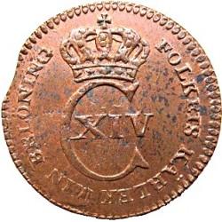 Монета > 1/12скиллинга, 1825 - Швеция  - obverse