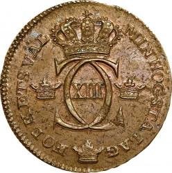 Mynt > ¼skilling, 1817 - Sverige  - obverse