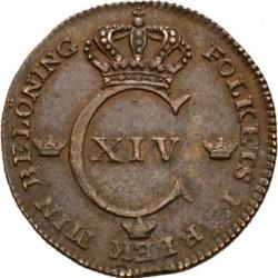 錢幣 > ¼斯基林, 1819-1830 - 瑞典  - obverse