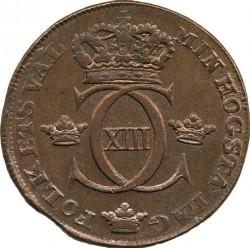 Pièce > 1skilling, 1812-1817 - Suède  - obverse