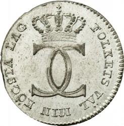 Монета > 1/24риксдалер, 1810-1816 - Швеция  - obverse