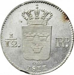 Монета > 1/12риксдалер, 1811 - Швеция  - reverse