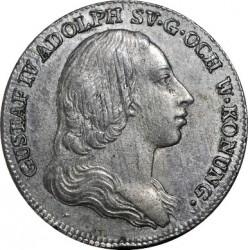 Монета > ⅙риксдалер, 1799 - Швеция  - obverse