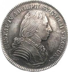 Moneta > ⅙riksdaler, 1800-1809 - Szwecja  - obverse