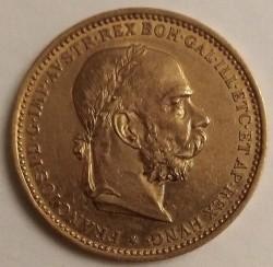 سکه > 20کرونا, 1892-1905 - اتریش   - obverse