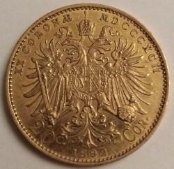 سکه > 20کرونا, 1892-1905 - اتریش   - reverse