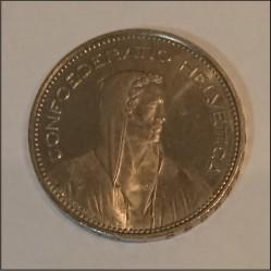 Moneta > 5franków, 2016 - Szwajcaria  - obverse