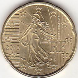 Moneta > 20centesimidieuro, 2015 - Francia  - reverse
