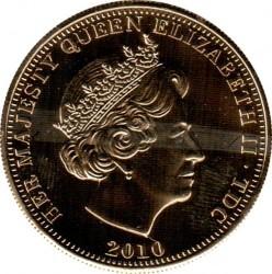Moneta > 1korona, 2010 - Tristan da Cunha  (Bohaterowie wielkiej Brytanii - Samotny żołnierz) - obverse