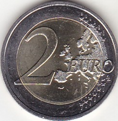 Moneda > 2euros, 2009-2018 - Mónaco  - obverse