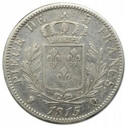 Moneta > 5franchi, 1814-1815 - Francia  - reverse