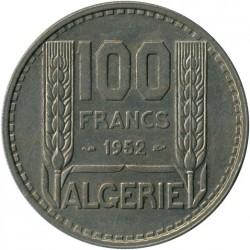 سکه > 100فرانک, 1950-1952 - الجزایر  - reverse